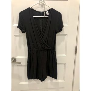 Cute Black H&M Romper!